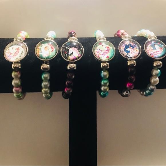 Other - Designs By Sye Unicorn Beaded Bracelets